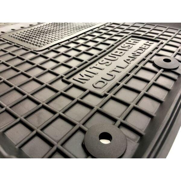 Водительский коврик в салон Mitsubishi Outlander 2012- (Avto-Gumm)