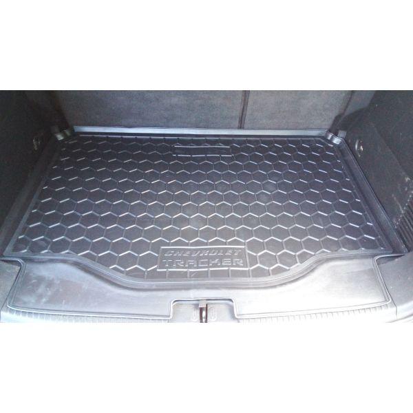 Автомобильный коврик в багажник Chevrolet Tracker 2013- (Avto-Gumm)