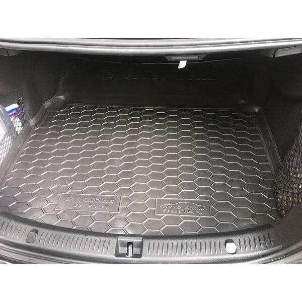 Автомобильный коврик в багажник Mercedes E (W213) 2016- (Avto-Gumm)