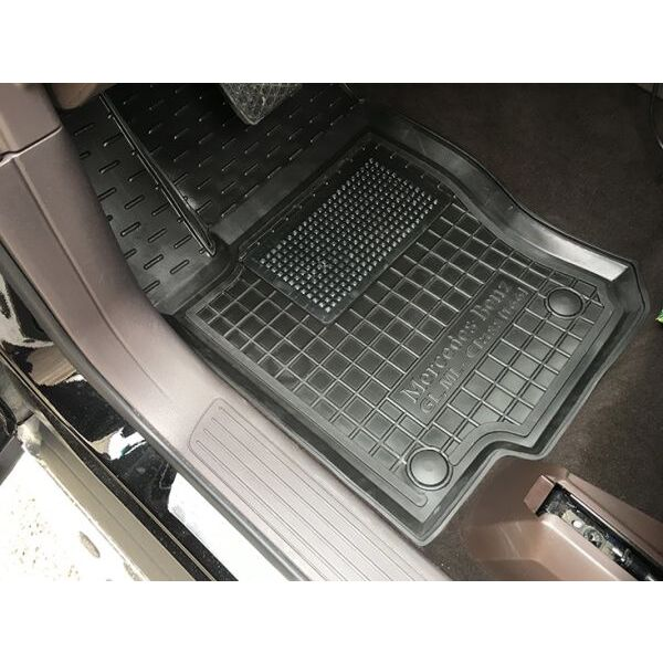Передние коврики в автомобиль Mercedes GL-Class (X166) 12-/GLS 14- (Avto-Gumm)