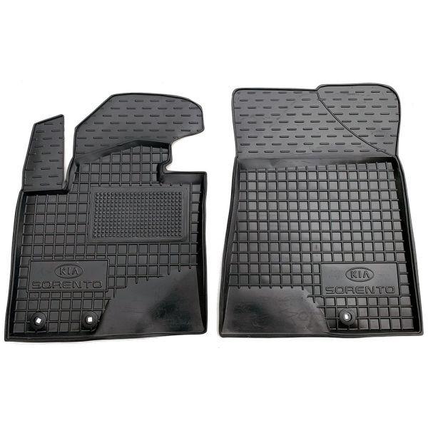 Передние коврики в автомобиль Kia Sorento 2009-2013 (Avto-Gumm)