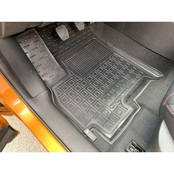 Водительский коврик в салон Chery Tiggo 4 2018- (Avto-Gumm)