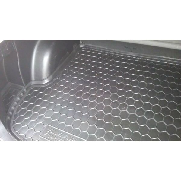 Автомобильный коврик в багажник Subaru Forester 3 2008- (Avto-Gumm)