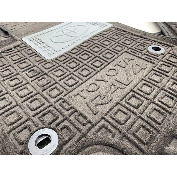 Гибридные коврики в салон Toyota RAV4 2019- hybrid (AVTO-Gumm)