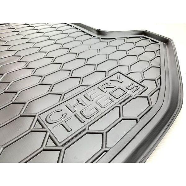 Автомобильный коврик в багажник Chery Tiggo 5 2015- (Avto-Gumm)