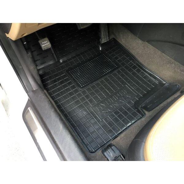 Водительский коврик в салон Hyundai Sonata YF/7 2010- (Avto-Gumm)