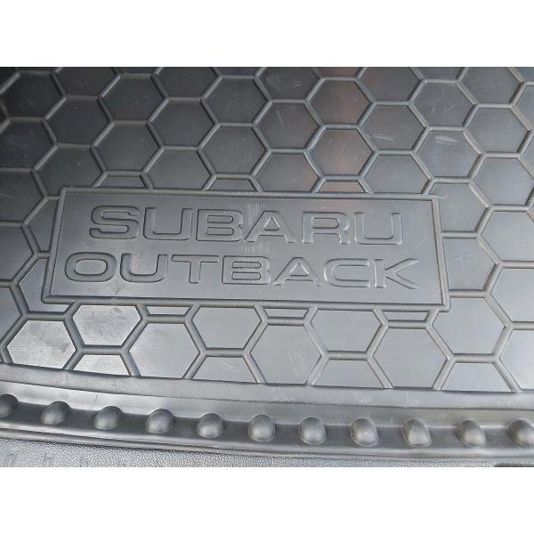Автомобильный коврик в багажник Subaru Outback 2015- (Avto-Gumm)