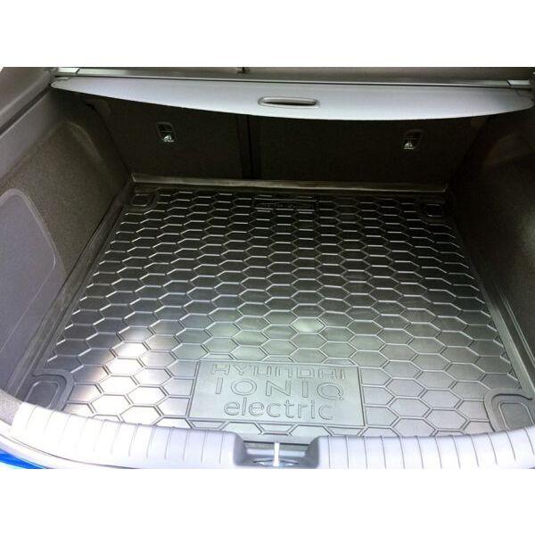 Автомобильный коврик в багажник Hyundai IONIQ electric 2018- (Avto-Gumm)