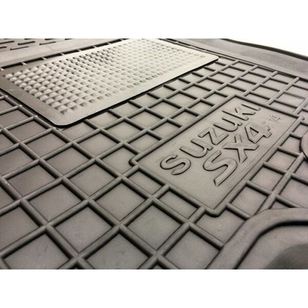 Водительский коврик в салон Suzuki SX4 2013- (Avto-Gumm)