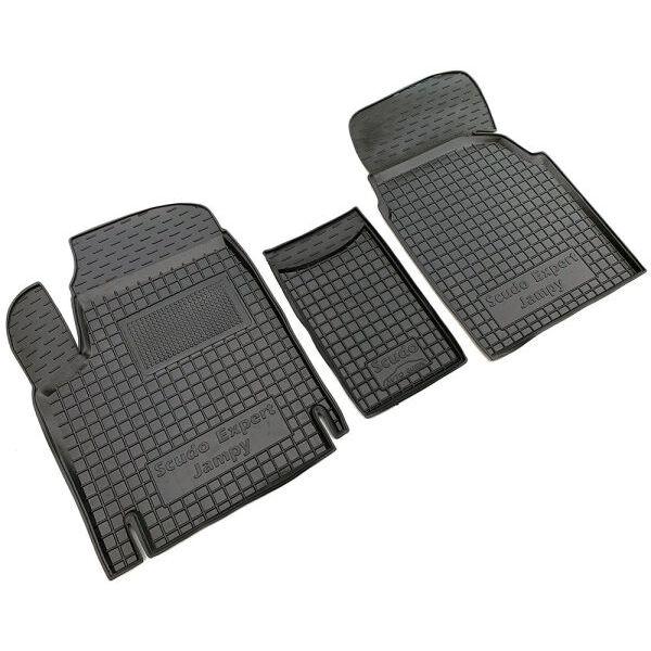 Автомобильные коврики в салон Citroen Jumpy 97-/Fiat Scudo 97-/Peugeot Expert 97- (Avto-Gumm)