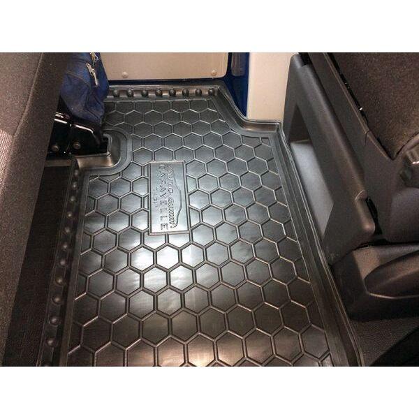 Автомобильные коврики в салон Volkswagen T5 Caravelle 2010- (2-й ряд) с печкой (Avto-Gumm)
