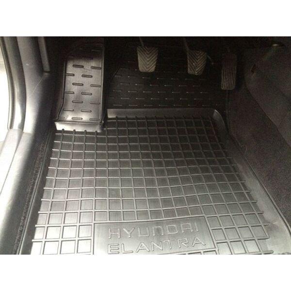Автомобильные коврики в салон Hyundai Elantra 2006-2011 (HD) (Avto-Gumm)
