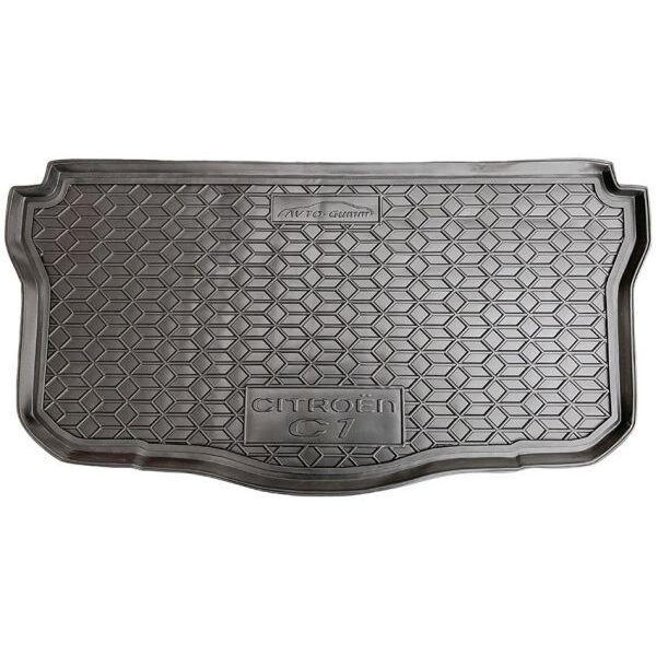 Автомобильный коврик в багажник Citroen C1 2014- (Avto-Gumm)