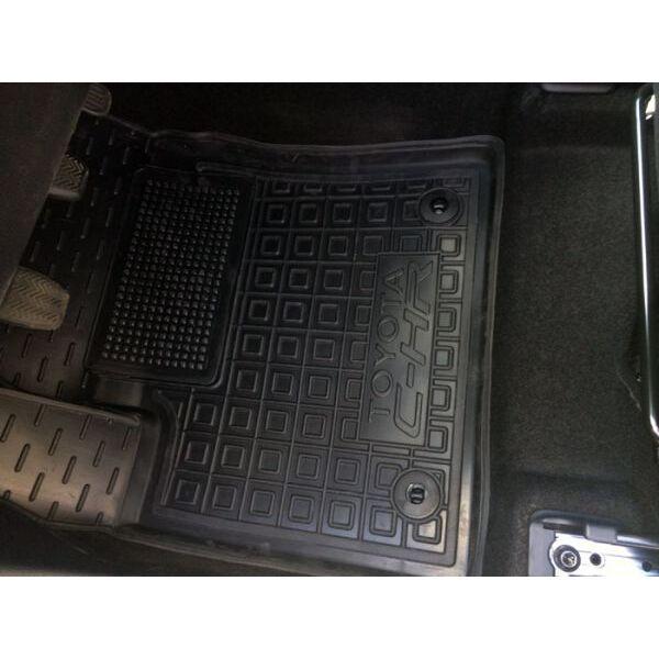 Водительский коврик в салон Toyota C-HR 2017- (Avto-Gumm)