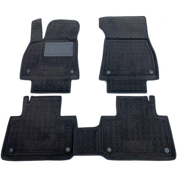 Гибридные коврики в салон Audi E-Tron 2020- (AVTO-Gumm)