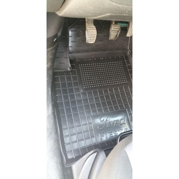 Водительский коврик в салон Ford Fiesta 2002-2008 (Avto-Gumm)