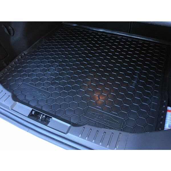 Автомобильный коврик в багажник Ford Focus 3 2011- Sedan (докатка) (Avto-Gumm)