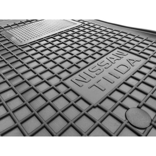 Водительский коврик в салон Nissan Tiida 2004- (Avto-Gumm)