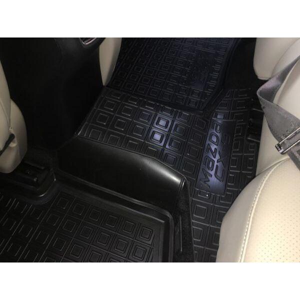 Автомобильные коврики в салон Mazda CX-9 2018- (Avto-Gumm)