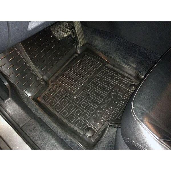 Водительский коврик в салон Volkswagen Passat B6 05-/B7 11- (Avto-Gumm)