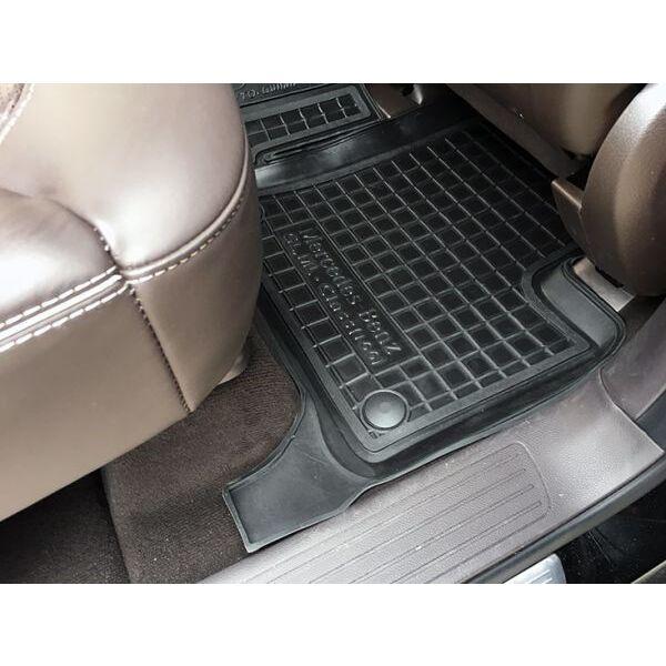 Автомобильные коврики в салон Mercedes GL (X166) 12-/GLS 14- (7 мест) (Avto-Gumm)