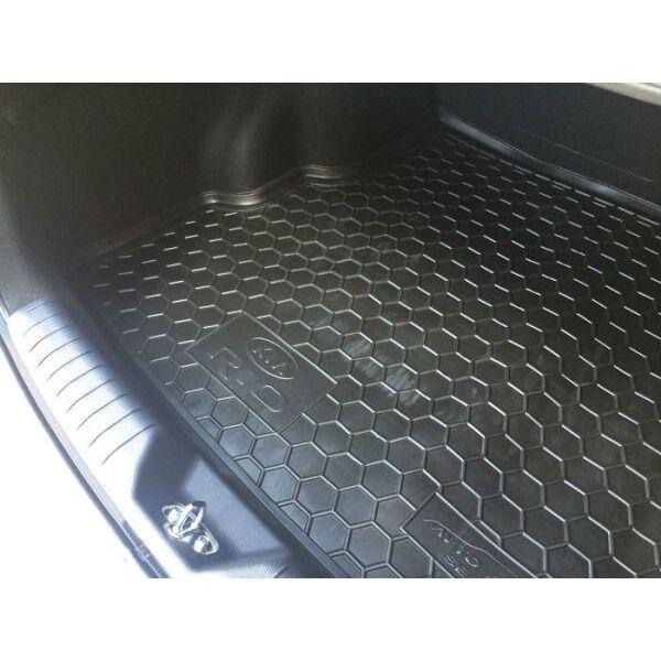 Автомобильный коврик в багажник Kia Rio 2015- Sedan (Avto-Gumm)