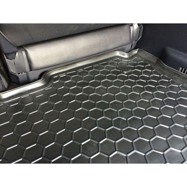 Автомобильный коврик в багажник Mitsubishi Pajero Wagon 3/4 99-/07- (Avto-Gumm)