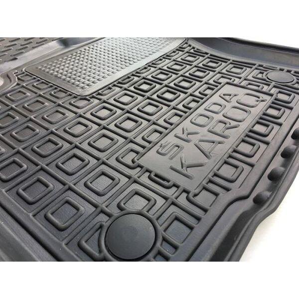 Водительский коврик в салон Skoda Karoq 2018- (Avto-Gumm)