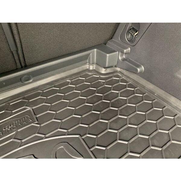 Автомобильный коврик в багажник Peugeot 3008 2017- нижняя полка (Avto-Gumm)