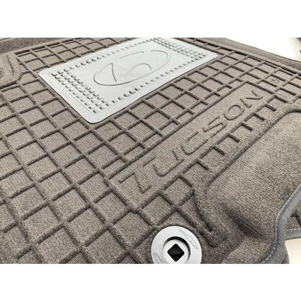 Гибридные коврики в салон Hyundai Tucson 2016- (AVTO-Gumm)