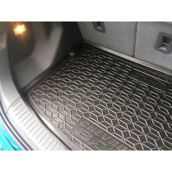 Автомобильный коврик в багажник Chevrolet Bolt EV 2016- верхняя полка (Avto-Gumm)