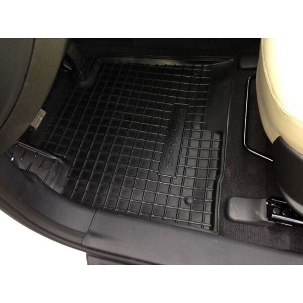 Автомобильные коврики в салон Hyundai Santa Fe (DM) 2012- (Avto-Gumm)