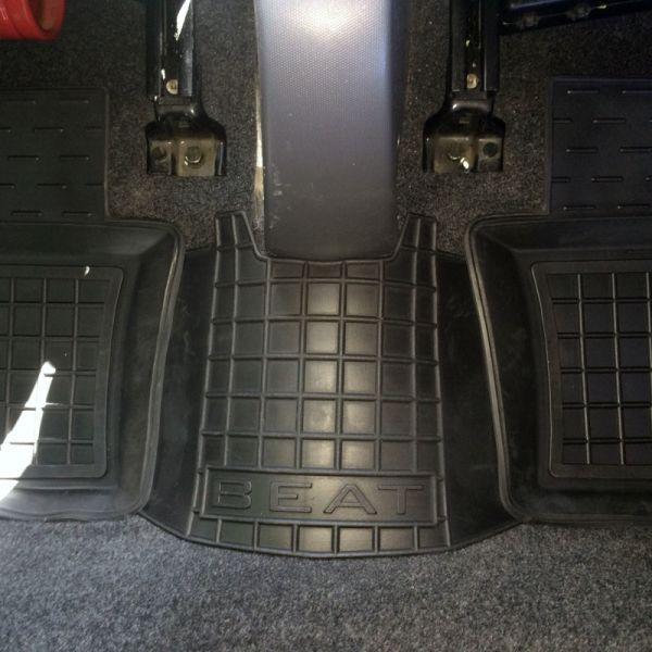 Автомобильные коврики в салон Chery Beat 2011- (Avto-Gumm)