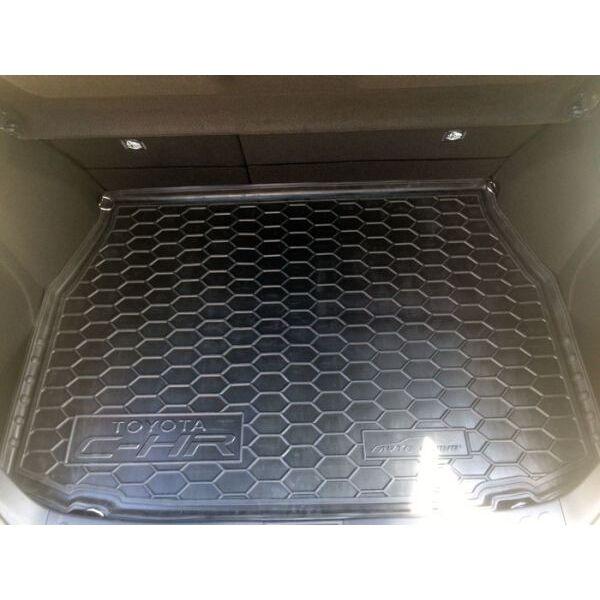Автомобильный коврик в багажник Toyota C-HR 2017- (Avto-Gumm)