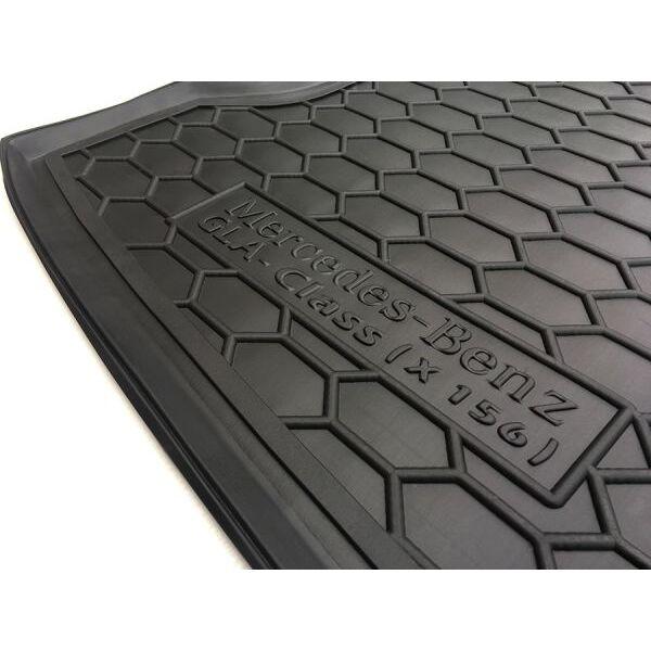Автомобильный коврик в багажник Mercedes GLA (X156) 2015- (Avto-Gumm)