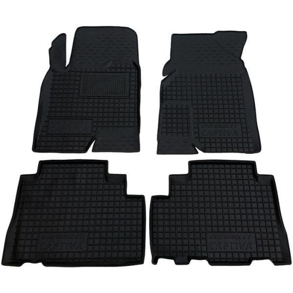 Автомобильные коврики в салон Chevrolet Captiva 2012- (Avto-Gumm)