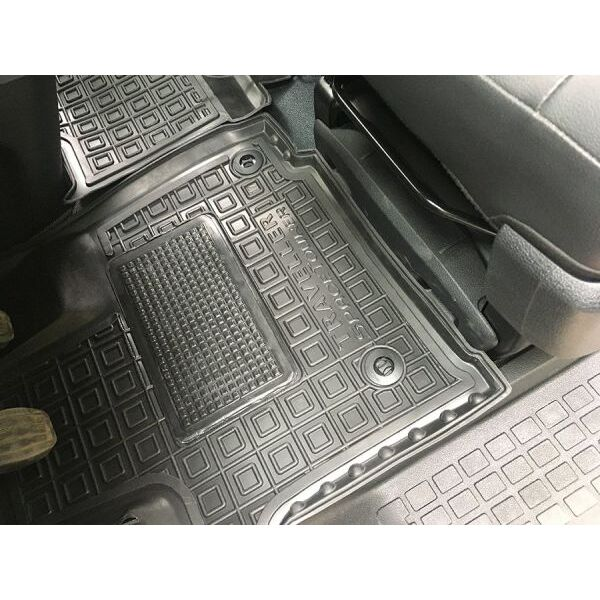 Автомобильные коврики в салон Peugeot Expert/Traveller 2017- (1+2) передние (Avto-Gumm)