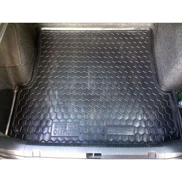 Автомобильный коврик в багажник Skoda Octavia Tour 1996- Liftback (Avto-Gumm)