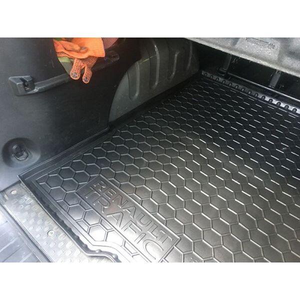 Автомобильный коврик в багажник Renault Trafic 3 2016- (Max) (Avto-Gumm)