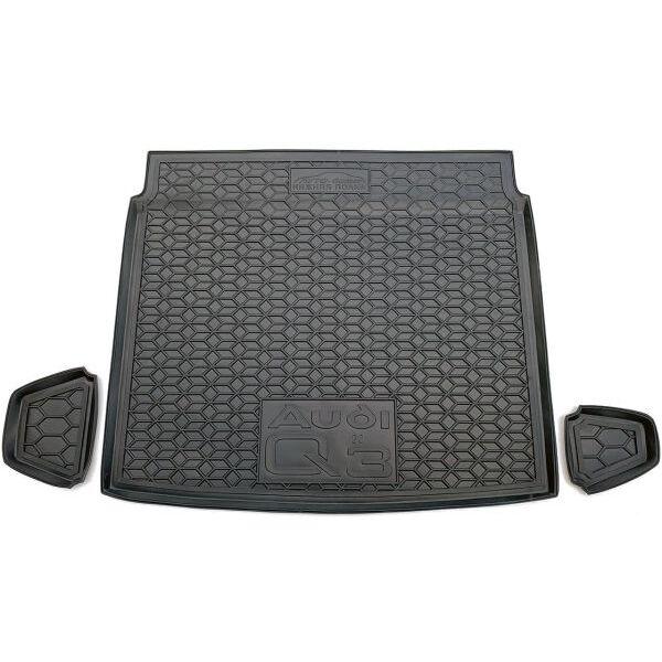 Автомобильный коврик в багажник Audi Q3 2020- (нижняя полка) (Avto-Gumm)