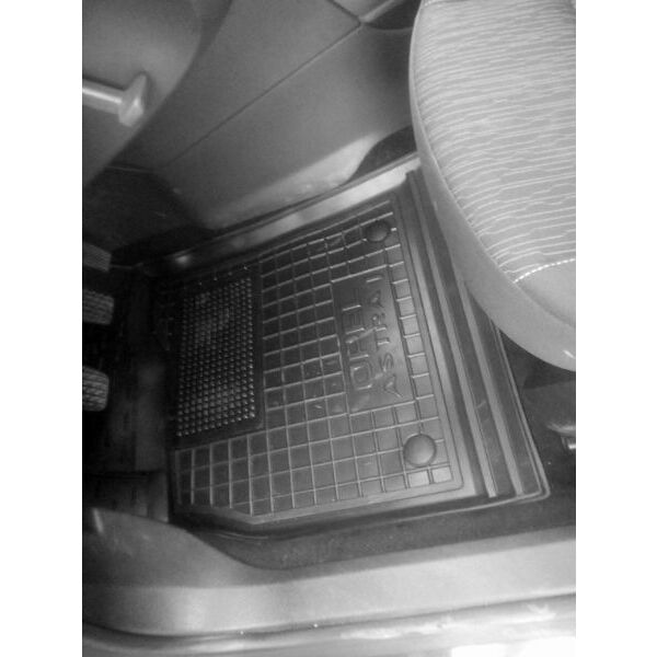 Водительский коврик в салон Opel Astra (J) 2009- (Avto-Gumm)