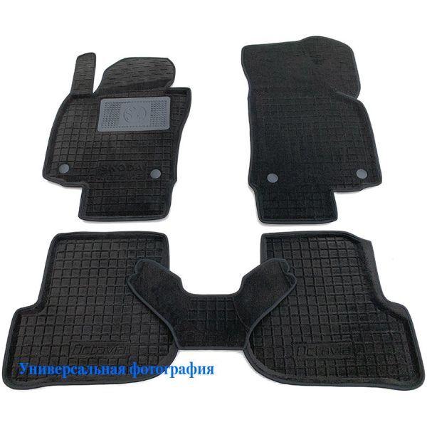 Гибридные коврики в салон BMW 5 (F10) 2013- (AVTO-Gumm)