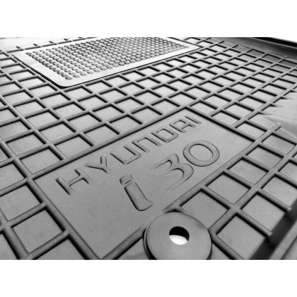 Водительский коврик в салон Hyundai i30 2012-2017 (Avto-Gumm)