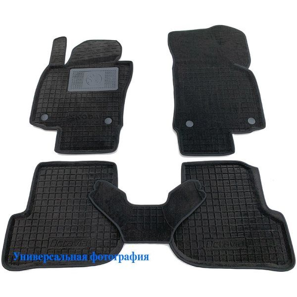 Гибридные коврики в салон BMW X5 (F15) 2013- (AVTO-Gumm)
