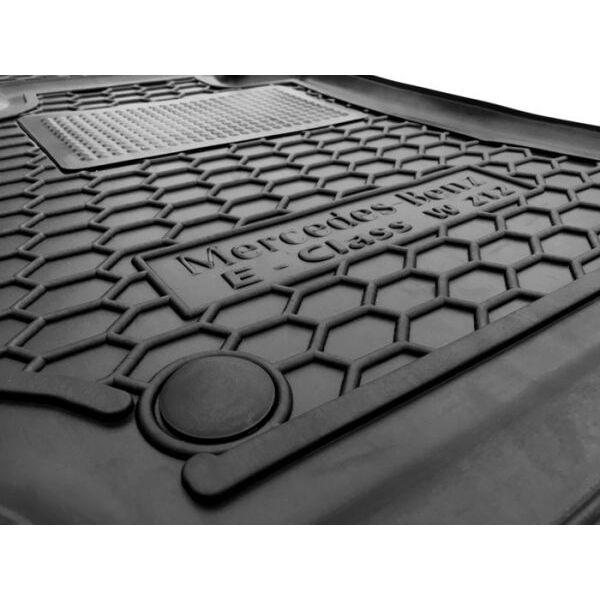 Водительский коврик в салон Mercedes E (W212) 2009- (Avto-Gumm)