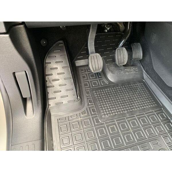 Водительский коврик в салон Peugeot Rifter 19-/Citroen Berlingo 19- (Avto-Gumm)