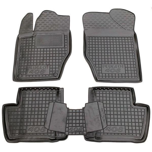 Автомобильные коврики в салон Peugeot 408 2012- (Avto-Gumm)
