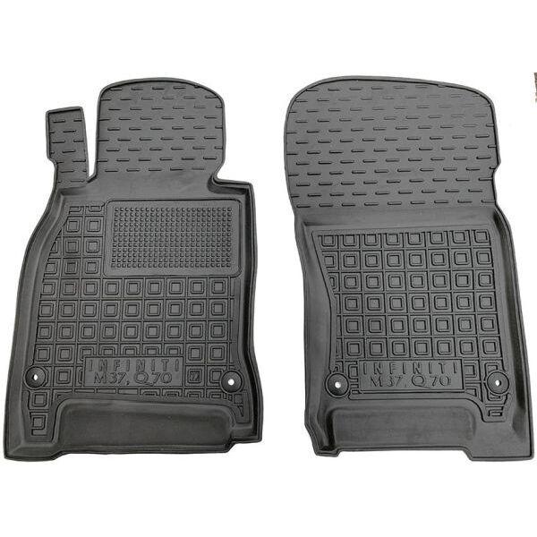 Передние коврики в автомобиль Infiniti M/Q70 2010- (Avto-Gumm)