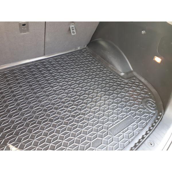 Автомобильный коврик в багажник Hyundai Santa Fe 2006-2012 5 мест (Avto-Gumm)