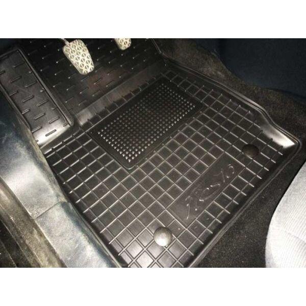 Водительский коврик в салон Ford Fiesta 2008- (Avto-Gumm)
